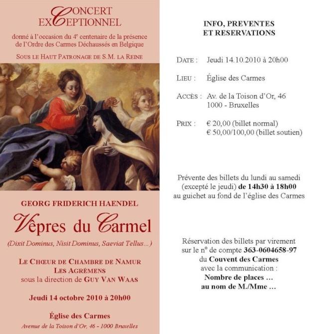 Concerts à Namur Tract210
