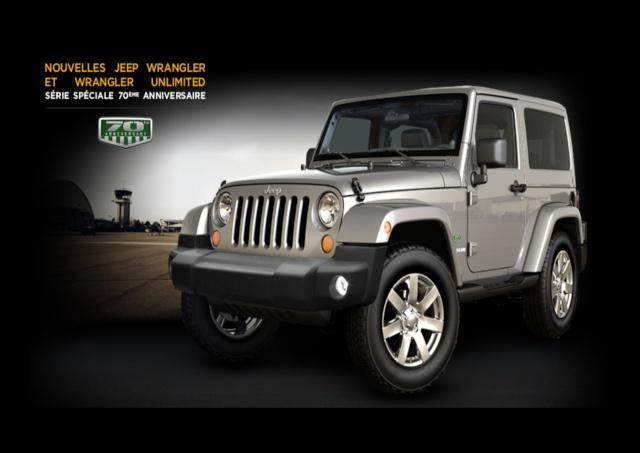 Jeep Wrangler série spéciale 70e Anniversaire  Sans_t13