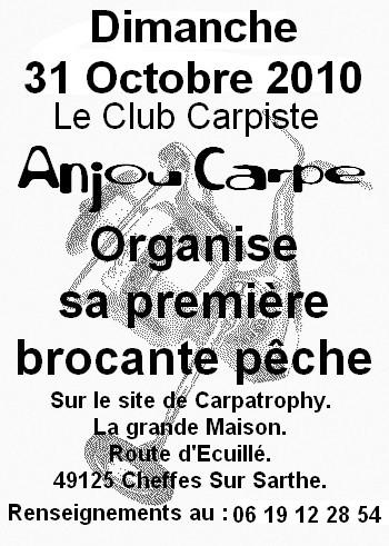 Brocante Pêche le 31 Octobre 2010 à Carpa-Trophy: Brocan10