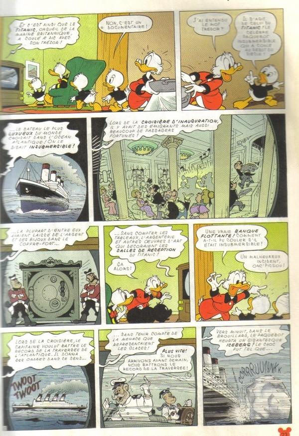 Le journal de Mickey spécial Titanic Picsou12