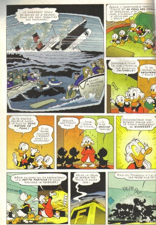 Le journal de Mickey spécial Titanic Picsou14