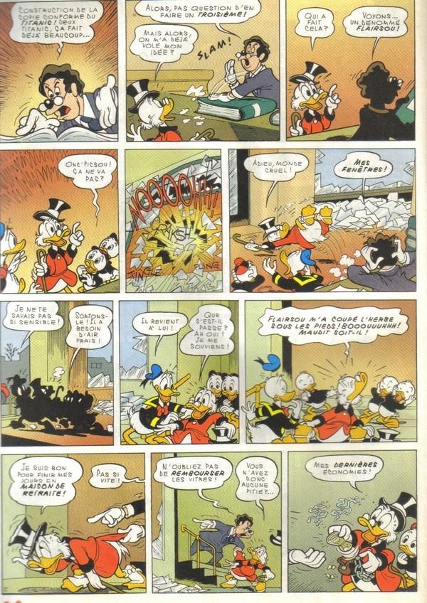 Le journal de Mickey spécial Titanic Picsou16
