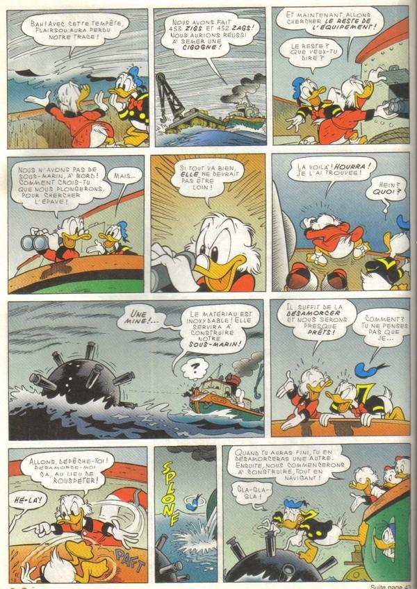 Le journal de Mickey spécial Titanic Picsou23