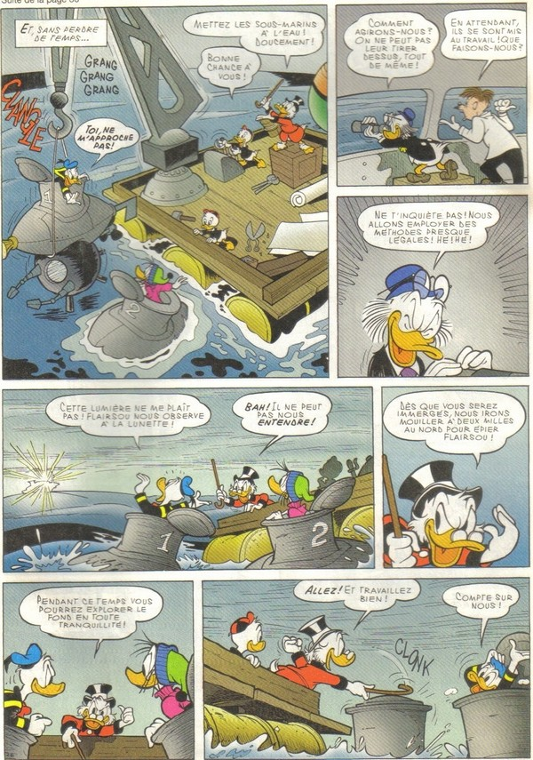 Le journal de Mickey spécial Titanic Picsou26