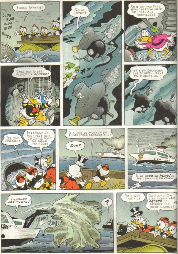 Le journal de Mickey spécial Titanic Picsou27