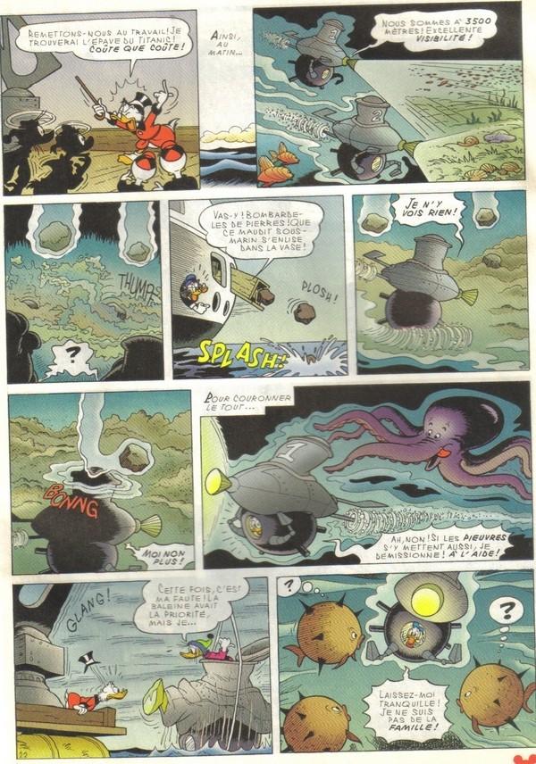 Le journal de Mickey spécial Titanic Picsou32