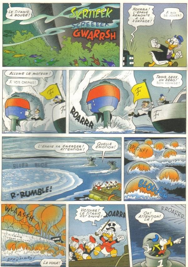 Le journal de Mickey spécial Titanic Picsou38