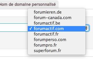 Changement d'URL bloqué par certificat SSL Domain10