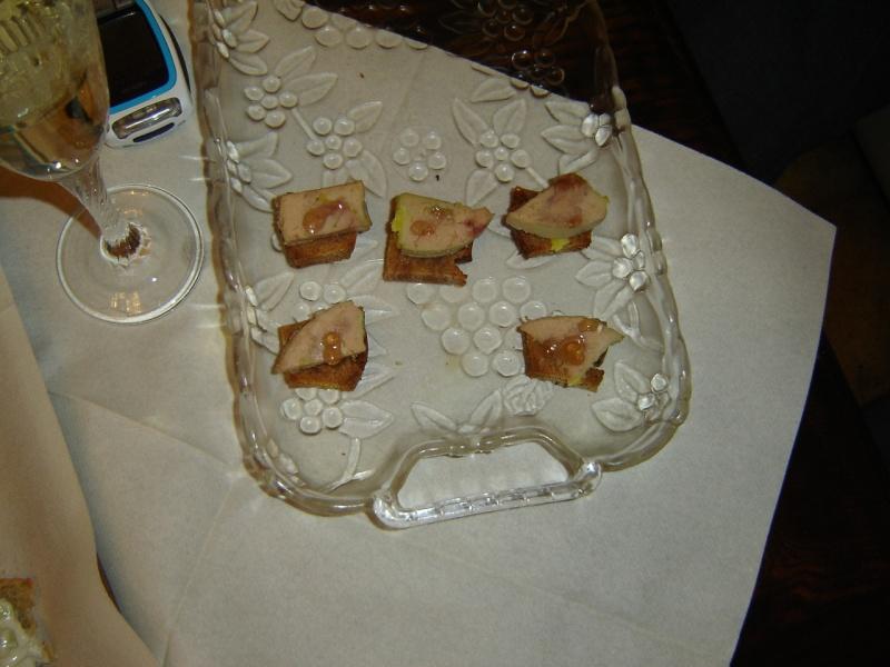 toasts pain d'épices foie gras Dsc01512