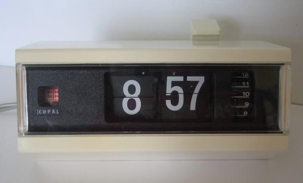 Afficheur 7 segments, dans combien de temps ? Reveil10