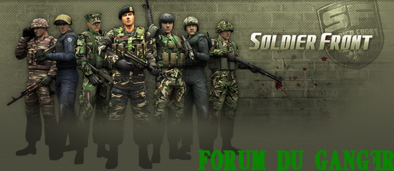 Soldier Front - Forum du clan GangFr
