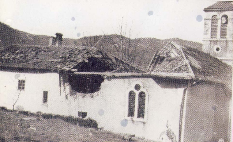 Avant-Après Malleval village martyr du Vercors Mallev12