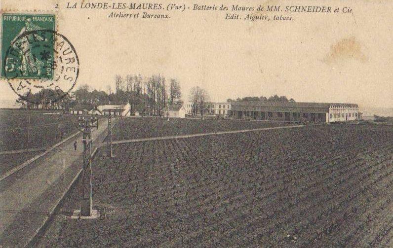 USINE DES TORPILLES DES BORMETTES (LA LONDE) La_lon13