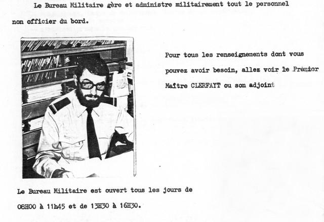 LA SPÉCIALITÉ DE SECRÉTAIRE MILITAIRE Clerfa10