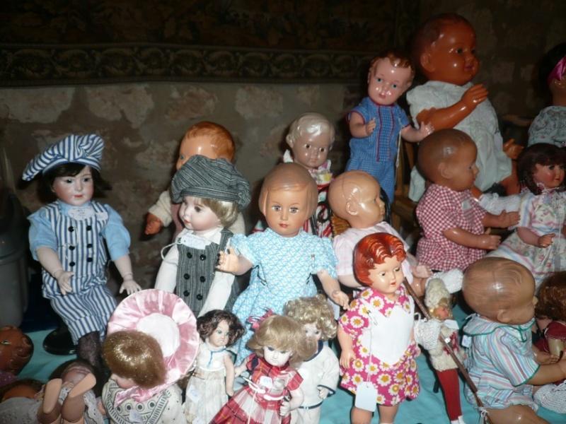 Les 16 et 17 octobre 2010 - Salon des poupées anciennes et exposition Bleuette au château de Fleury-la-forêt (27) 07510