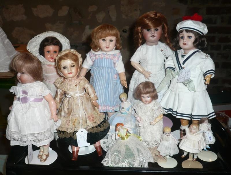 Les 16 et 17 octobre 2010 - Salon des poupées anciennes et exposition Bleuette au château de Fleury-la-forêt (27) 07810