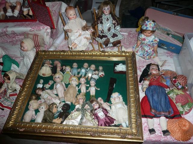 Les 16 et 17 octobre 2010 - Salon des poupées anciennes et exposition Bleuette au château de Fleury-la-forêt (27) 08210