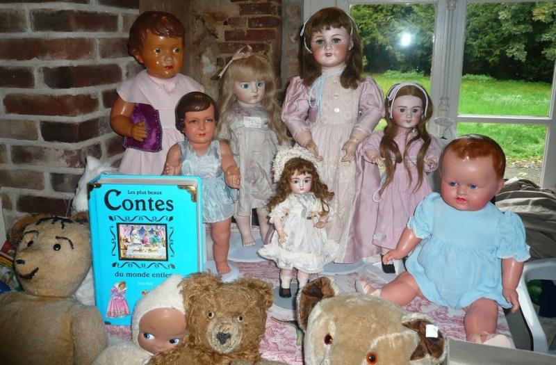 Les 16 et 17 octobre 2010 - Salon des poupées anciennes et exposition Bleuette au château de Fleury-la-forêt (27) 08310