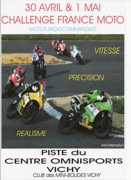 Courses Nationales moto rc 1/5 piste Affich10