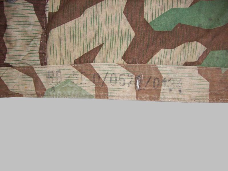 Zeltbahn splinter Tente018