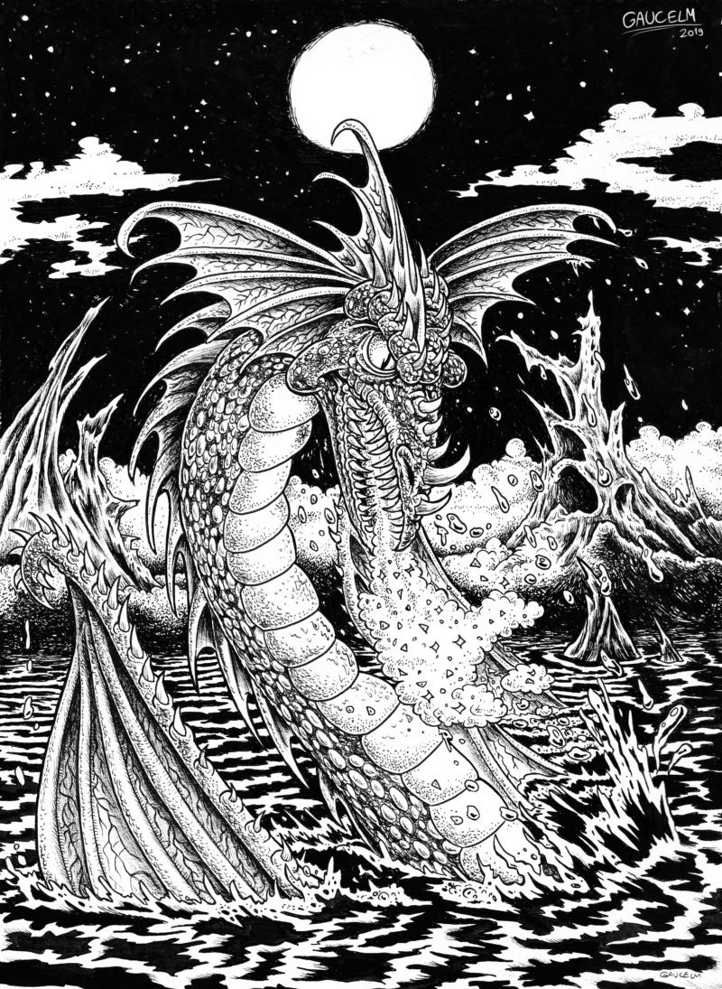 Les ILLUSTRATIONS D'ALIANNA - Page 2 Dragon10