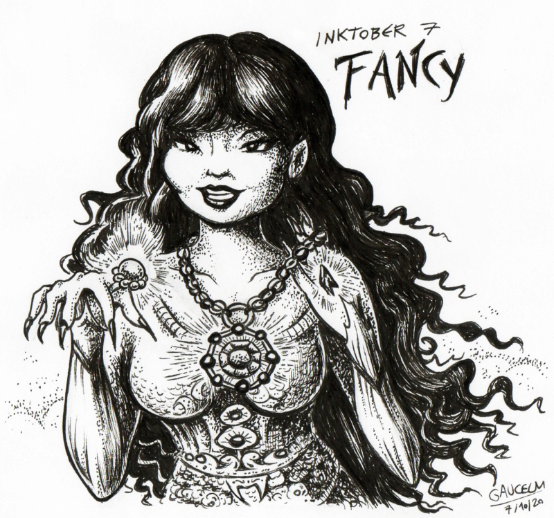 Les ILLUSTRATIONS D'ALIANNA Inktob14