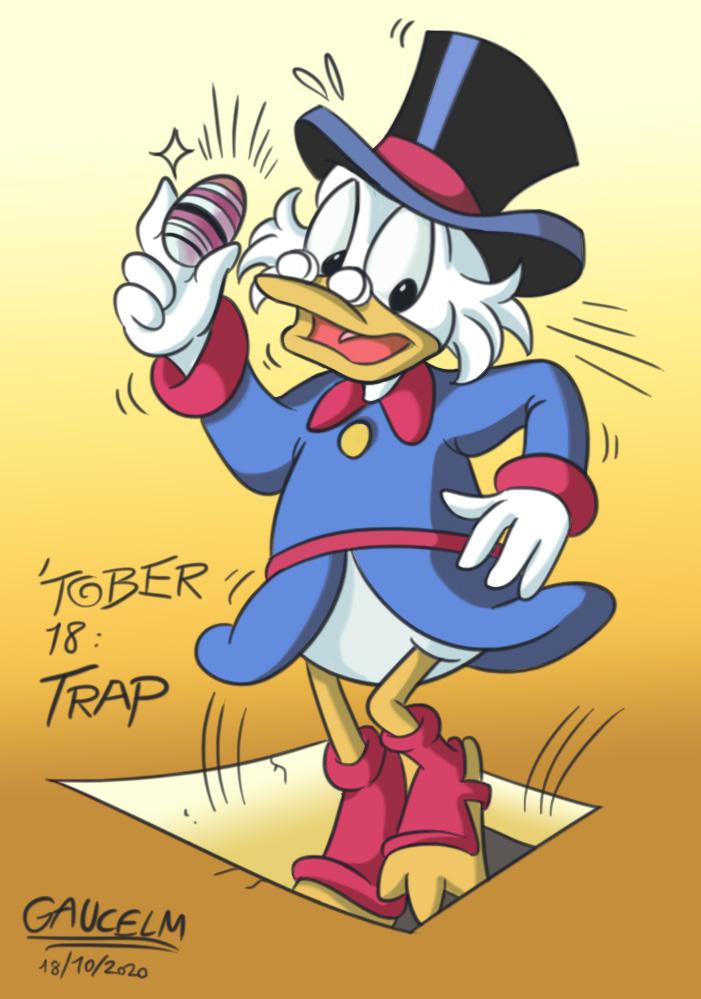 Dessins que je fais!  (univers BD de Mickey et Donald...) - Page 17 Inktob18