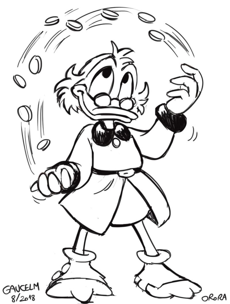 Dessins que je fais!  (univers BD de Mickey et Donald...) - Page 15 Picsou11
