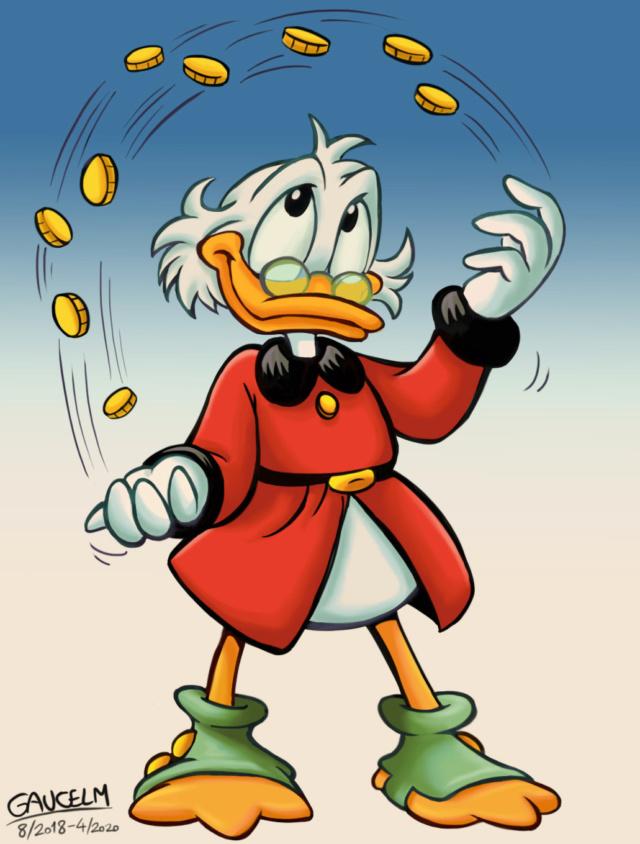 Dessins que je fais!  (univers BD de Mickey et Donald...) - Page 16 Picsou26
