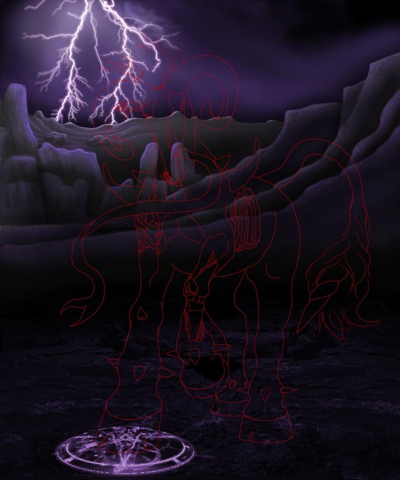[Photoshop] Colossus partie 2 : L'arrière plan Fond1310