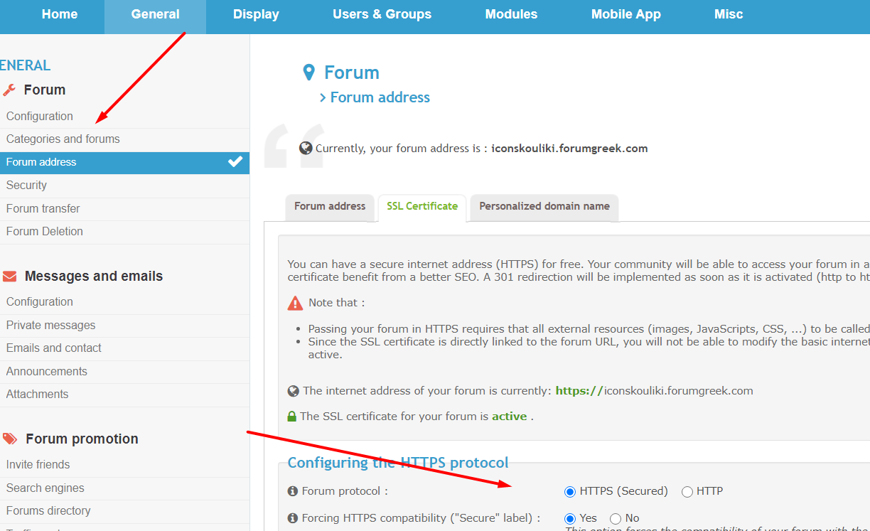 How Can I Change my Forum Htpps to Http? Scre2401