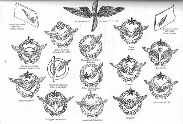 Les Insignes de l' Armée de l'Air Insign13