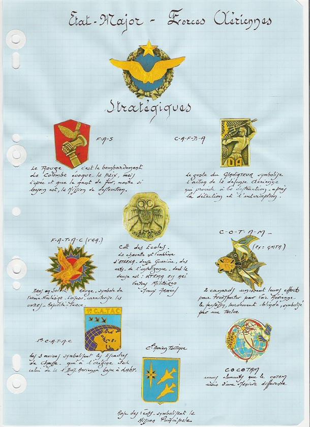 Les Insignes de l' Armée de l'Air Insign17
