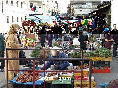 Mimouni - MIMOUNI : التجارة العشوائية تزدهر في المدن   Souss_13