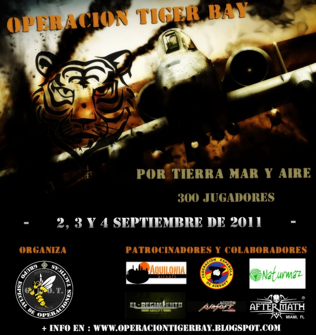 Operacion Tiger Bay.  Airsoft Coruña GEOT Cartel11
