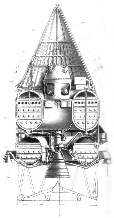"""2 janvier 1959: """"Et Luna-1 s'envola vers la Lune"""" 4610"""
