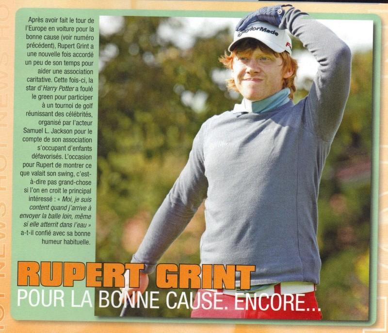 Interview de Rupert Grint 10-10-16