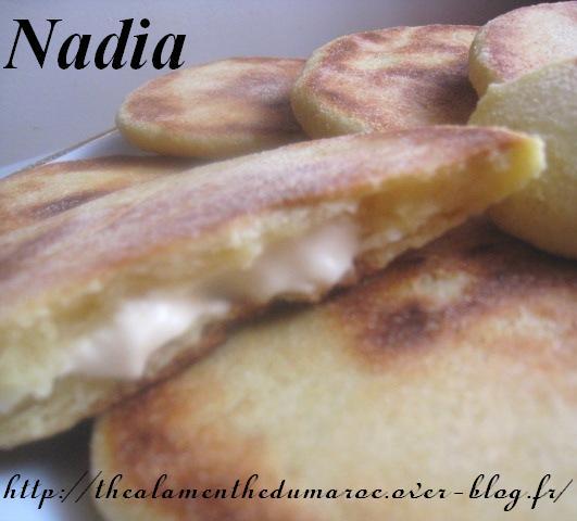 Mini-Harcha Marocaine Farcie au Fromage / Les Galettes Marocaines Farcies au fromage Harcha11