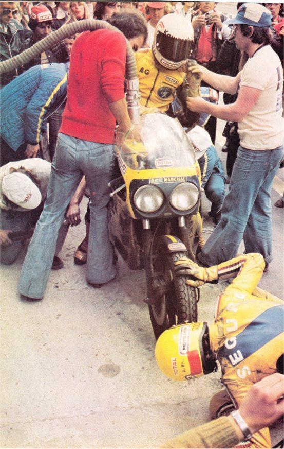 n° 7 du Bol d'or 1974 - Page 2 Egli_114