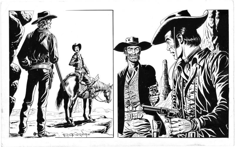 Quelques études ''Western'' de Raoul Giordan Etudes10