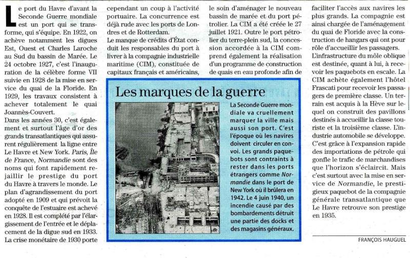 Évolution du port du Havre dans les années 1920-1940 Navale10