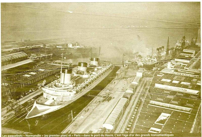 Évolution du port du Havre dans les années 1920-1940 Navale11