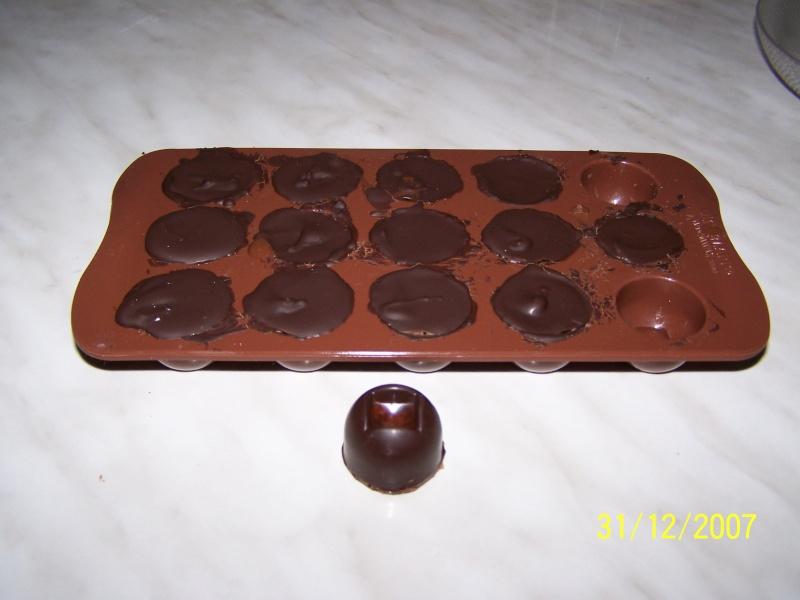 Bouchées pralinées Chocol10