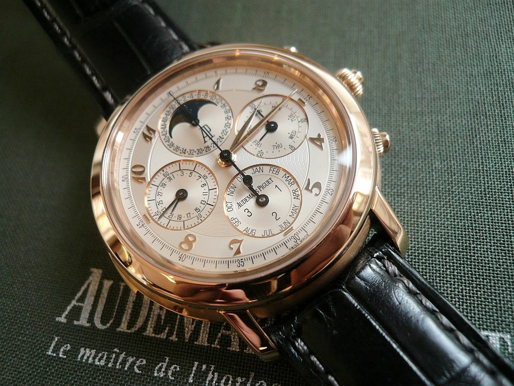 AP Tourbillon Chronographe Répétitions Minutes Ap1110