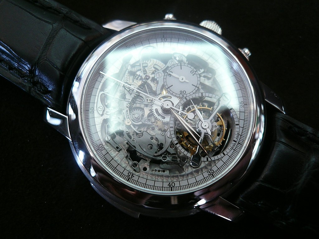 AP Tourbillon Chronographe Répétitions Minutes Ap1510