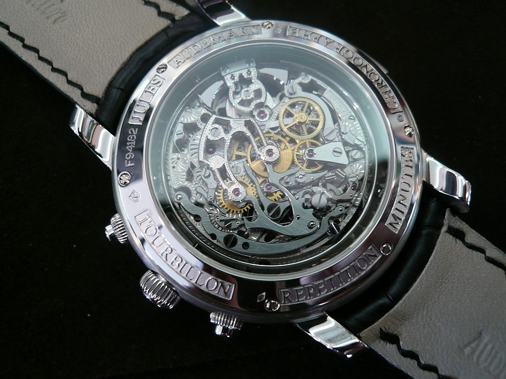AP Tourbillon Chronographe Répétitions Minutes Ap1610