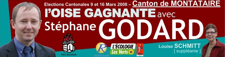 Cantonales 2008 - Montataire socialiste