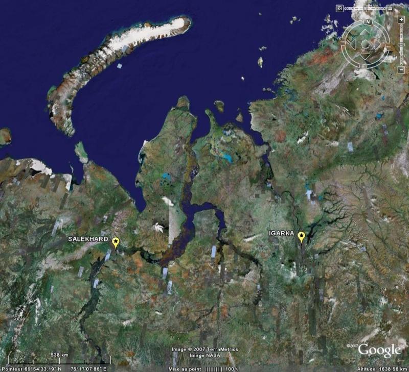 Bagnes et Camps d'internement / déportation découverts avec Google Earth Goul11