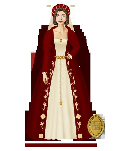 Anoblissement d'Elienore Robe11