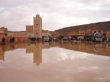 الأشجارPhotos des innondations de fi octobre 2006 à Tinjdad Maroc_14